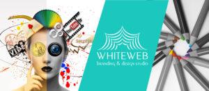 White Web Design Banner